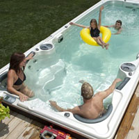 Reasons to Choose a Hydropool Swim Spa | Clearwater Pools and Spas