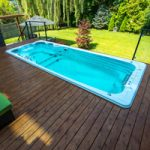 Can you put a swim spa on a deck?