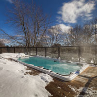 Can You Use a Swim Spa in the Winter?