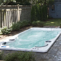 How are Swim Spas Heated?