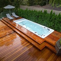 How to Landscape Around A Swim Spa