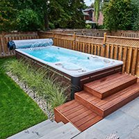 What Is A Swim Spa Pool