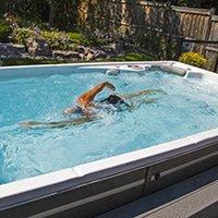 Hydropool Swim Spa